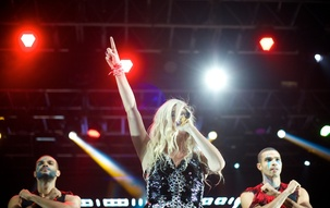 Gallery: Ke$ha,Trey Songz perform in Carrier Dome at Block Party